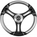 "Torcello Wheel 05 Series - All Polyurethane w/ Decorated Inserts, Rim Trim, 3/4"" Tapered Shaft"